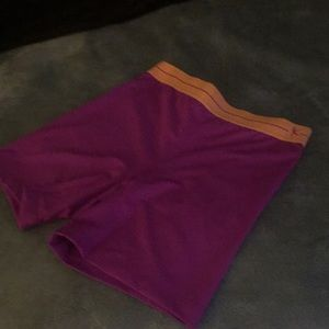 Drimore fitted exercise shorts